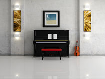 Music room Royalty Free Stock Photos