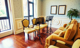 music study sitting room Stock Images