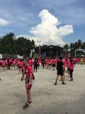 Music Run Singapore 2015 Royalty Free Stock Photo
