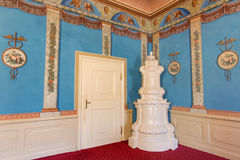 Music saloon in palace Saint Anton Royalty Free Stock Image