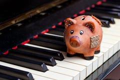 Music and saving Stock Photo
