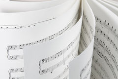 Music Score Royalty Free Stock Photography