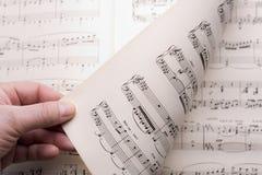 Music score Stock Images