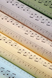 Music scores Stock Photos