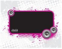 Music screen Royalty Free Stock Image