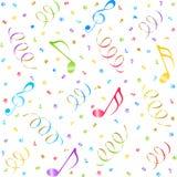 Music seamless background. Stock Photo