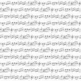 Music Seamless Background Stock Image