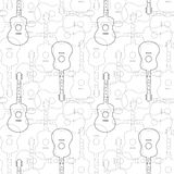 Music seamless pattern Royalty Free Stock Photo