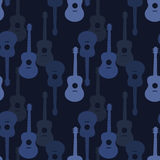 Music seamless pattern royalty free illustration