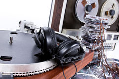 Music set Stock Photography