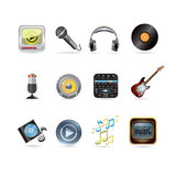 Music set Stock Images
