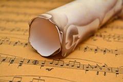 Music sheet Royalty Free Stock Images