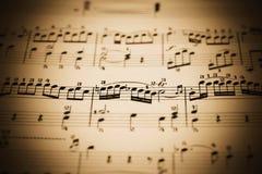 Free Music Sheet Royalty Free Stock Photography - 573277