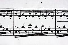 Music sheet stock photos