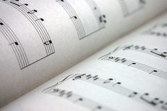 Music Sheet Royalty Free Stock Photo