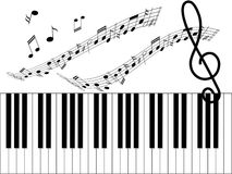 Music sheet Royalty Free Stock Image