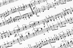 Music sheet Royalty Free Stock Images