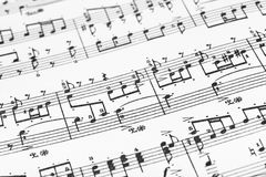 Music sheet Stock Images