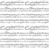 Music Sheet On White, Seamless Pattern Stock Photos