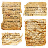 Music sheets Stock Photos