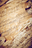 Music sheets Royalty Free Stock Photo