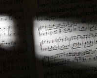 Music sheets Royalty Free Stock Image