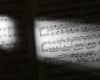 Music sheets Royalty Free Stock Image