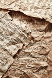 Music sheets Stock Images