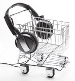 Music Shopping Stock Image