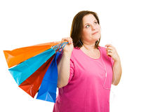 Music & Shopping Stock Photography