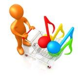 Music Shopping Stock Photos