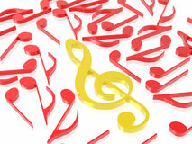Music sign. (see more in my portfolio Stock Images