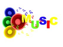 Music Sign Or Symbol Royalty Free Stock Photo