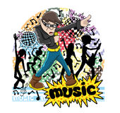 Music sign. Stock Images