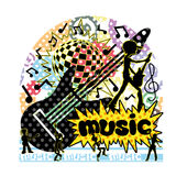 Music sign. Stock Photography