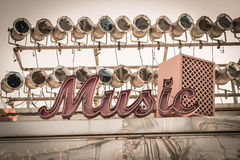 Music sign Royalty Free Stock Photo