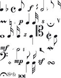 Music Signs Royalty Free Stock Image