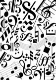 music signs  Royalty Free Stock Images