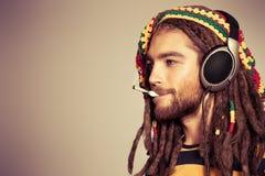 Music smoke Royalty Free Stock Images