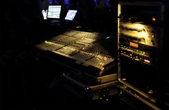 Music Sound Mixer. royalty free stock photo