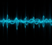 Music sound waves Royalty Free Stock Photography