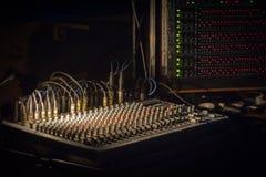Music soundboard Stock Photo