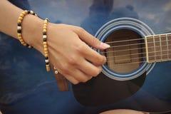 Music sounding Stock Image