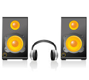 Music speaker Stock Photography