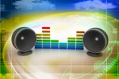 Music speaker Royalty Free Stock Photos