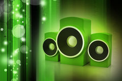Music speaker Stock Photo