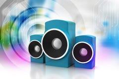 Music speaker Royalty Free Stock Photos