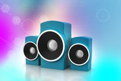 Music speaker Royalty Free Stock Photo