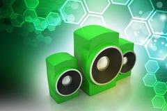 Music speaker Royalty Free Stock Images