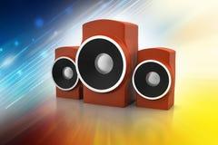 Music speaker Stock Photos